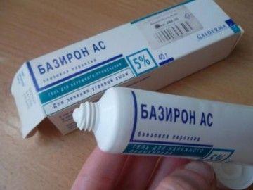 Лікування прищів базірон
