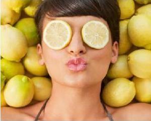 Лимонна маска для обличчя
