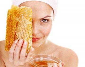 Маска з медом для обличчя від прищів