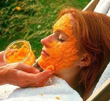 Морквяні маски для поліпшення шкіри обличчя
