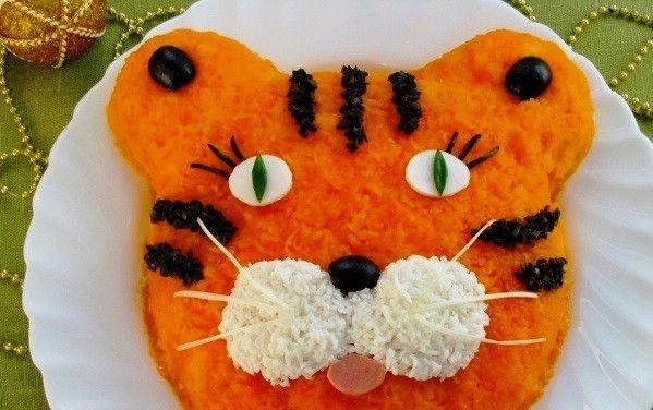 Смачні та корисні салати на дитяче свято