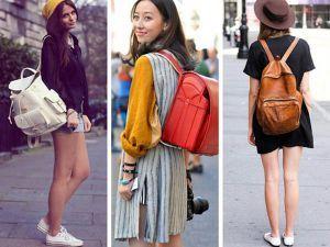 модні рюкзаки